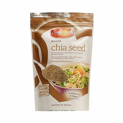 6 Packs of Linwoods  Milled Chia Seed 200g