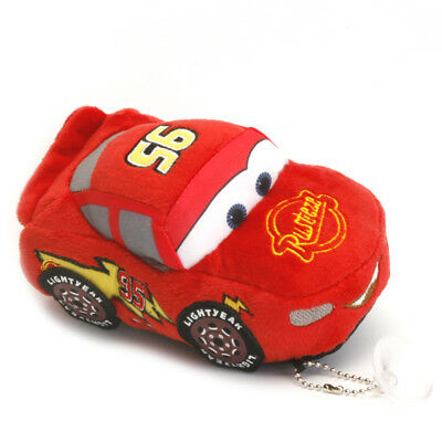 "Hot Disney Cars 5.9"" Lightning McQueen Soft Plush Doll Stuffed TOY Collection"