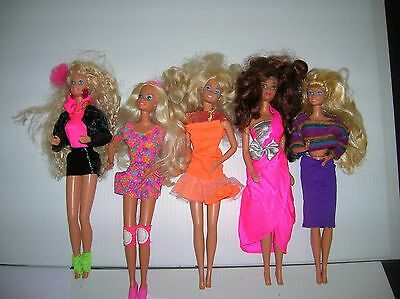 Barbie Dolls  mixed lot of 5 pieces lot # 6018