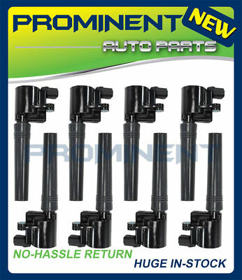 For Ford Thunderbird Lincoln V8 Set Of 8 Direct Ignition Coils Denso 673-6004