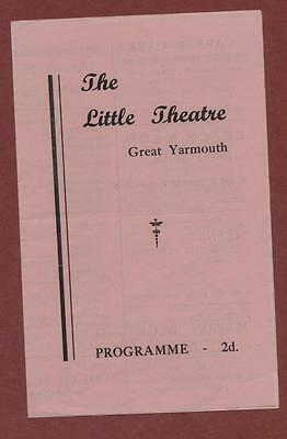 Great Yarmouth. Little Theatre. 1947 'They Came to a City' Elisabeth Newey s.244