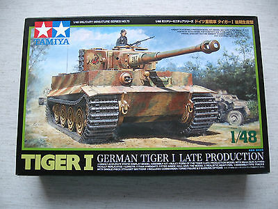 Tamiya 32575 German Tiger I Late Production 1:48 Neu & eingetütet