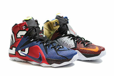 best sneakers 86967 4e15c NIKE LEBRON 12 Xii Se (Lebron James) (What The.. Edition)..Multi-Color..  Size 14
