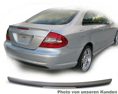 MERCEDES CLK C209 A209 209 Coupe SPOILER HECKFLÜGEL AMG Typ A LIPPE * SILBER 744