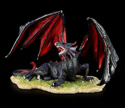 Drachen Figur - Blood Dragon of the Wasteland - Fantasy Deko Statue Veronese