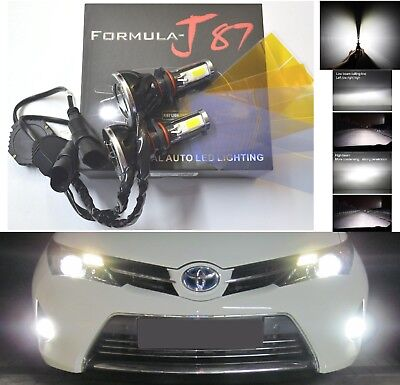 LED 30W 880 H27 White 6000K Two Bulbs Fog Light Replacement Upgrade Lamp OE