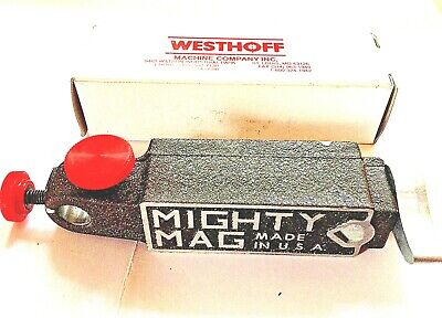 Quick Release Magnetic Base Indicator Holder USA Mighty Mag 400-3 TBR3