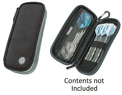 Harrows Z200 Darts Case / Wallet - Black - Compact - Holds Darts Fully Assembled