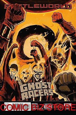 Ghost Racers #4 (2015) 1St Printing Secret Wars Tie-In