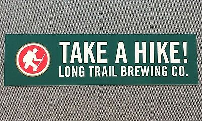 LONG TRAIL BREWING CO TAKE A HIKE Sticker 7.5in si Brewery LONGTRAIL