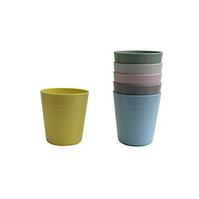 IKEA plastic cup set 6 colours for kids & party picnic beach summer BRAND NEW