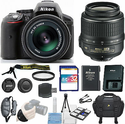 Nikon D5300  DSLR Camera -With 18-55mm DX VR Zoom Lens Pro Essentials Kit