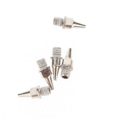 5PCS 0.5mm STAINLESS STEEL Airbrush Spray  Nozzle Replacement Part NEEDLE KIT