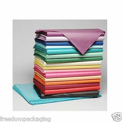 TISSUE PAPER HIGH QUALITY LUXURY ACID FREE SHEETS WRAPPING - 50cm X 37.5cm