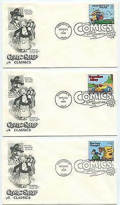 1995 Fdc,comic Strip Classics, Collection 20 Covers...