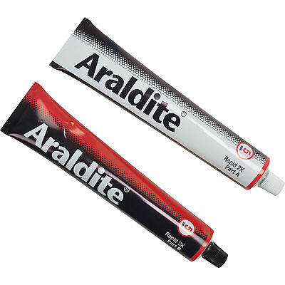 Araldite Industrial Rapid Setting Two Component Adhesive Tubes 2 x 100ml