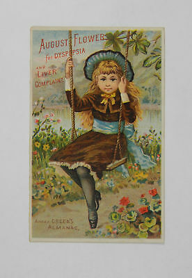 August Flower/ Boschee's German Syrup Groton, N.Y. Vintage Trade Card 216752