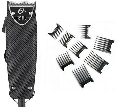 Oster Professional Carbon Fiber Fast Feed Professional Clipper+Free 8-pc comb