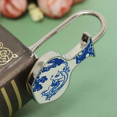 Zinc Alloy Chinese Element Porcelain Metal Bookmarks Magazine Book Reading Gift