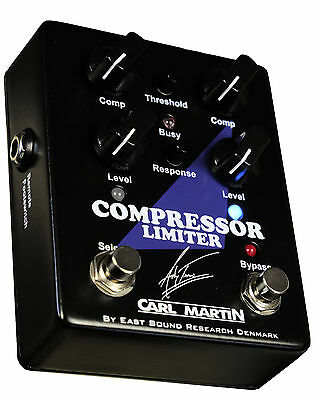 Carl Martin Andy Timmons Signature Compressor Limiter guitar effect pedal New