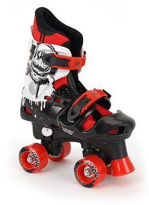 Osprey Boys Quad Skates Size 10 11 12 Traditional Roller Skates 4 Wheel Skating
