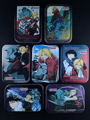 Fullmetal Alchemist Can Case Collection Complete set of 7 AMADA PRINTING