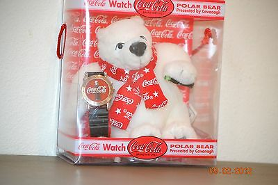 Coca Cola Bear and Watch 2000 by Cavanagh Vintage