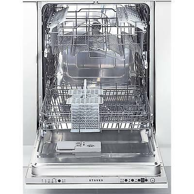 Stoves S600DW A 60cm 12 Place Settings 6 Programmes Fully Integrated Dishwasher