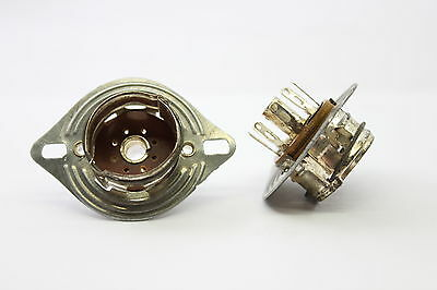 1pc. RIMLOCK SOCKET WITH ADAPTER 1960´S SPANISH PRODUCTION.