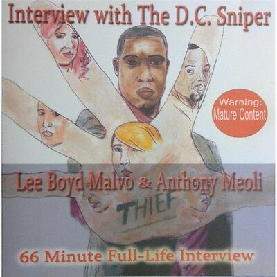 Anthony Meoli - Interview with the D.C. Sniper [New CD]