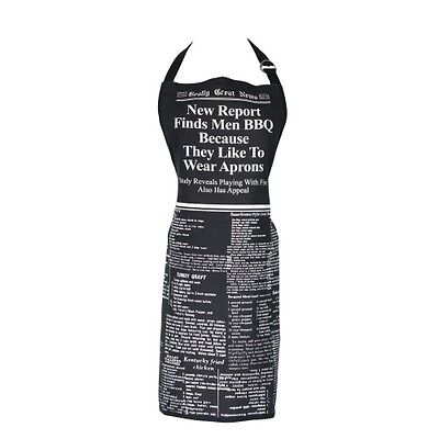 Men Like to Wear Aprons Apron - Fun gift for men - Fathers Day Present - Dad