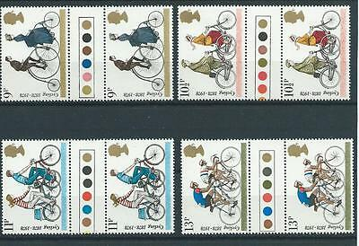 wbc. -  GB - COMMEMS - 1978 - CYCLING - GUTTER PAIRS - T/LIGHTS - UNM. MINT SETS