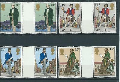wbc. - GB - COMMEMS - 1979 - SIR ROWLAND HILL  - GUTTER PAIRS   - UNM. MINT SETS