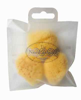 Hydrea London Fina Silk Cosmetic Sea Sponges w/ Strip Bag - 3 Piece size 1