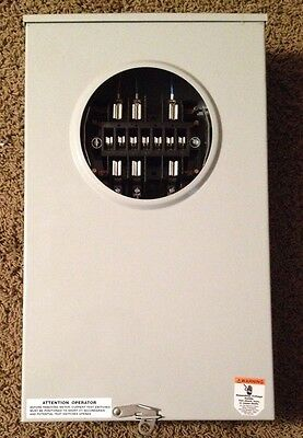 Meter Devices Co. Electrical Meter Box Model Part Number 602-3010C13-390