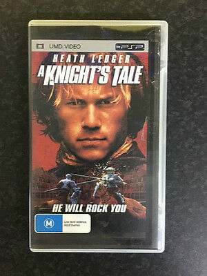 A Knight's Tale ex-rental UMD Video (Heath Ledger action adventure movie!)