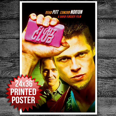 "FIGHT CLUB MOVIE POSTER 24"" x 36"""