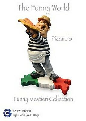 MESTIERI FUNNY COLLECTION LES ALPES - PIZZAIOLO - 014 12052 - Personaggi Regalo