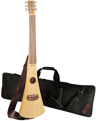 Martin 11GCBC Nylon-String Classical Backpacker Travel Guitar with Gig Bag