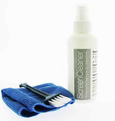 LCD LED TV PC MOBILE Cleaner / Plasma Screen Cleaning Kit With Microfibre Cloth