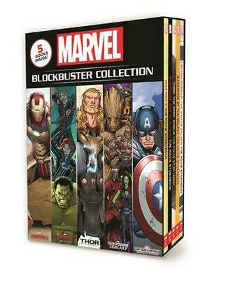 Marvel Blockbuster Collection Hardcover Book Free Shipping!