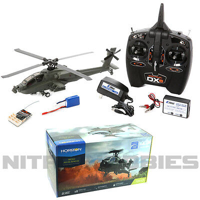 Blade BLH2500 Micro AH-64 Apache Helicopter RTF w/ DXe Radio /Battery/Charger