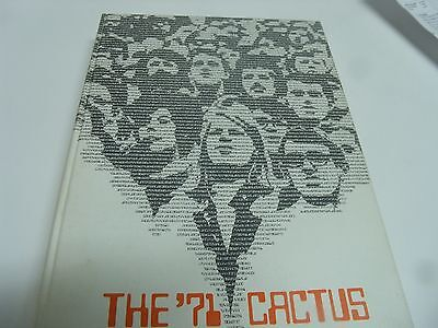 The University of Texas- The '71 Cactus Yearbook