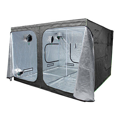 Grow Tent Pro, 200 240 300 400 600 cm All SIZES, THICK POLES, METAL CORNERS