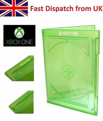 Official Genuine Microsoft Xbox One Replacement Empty Game Disc Case Cover Logo