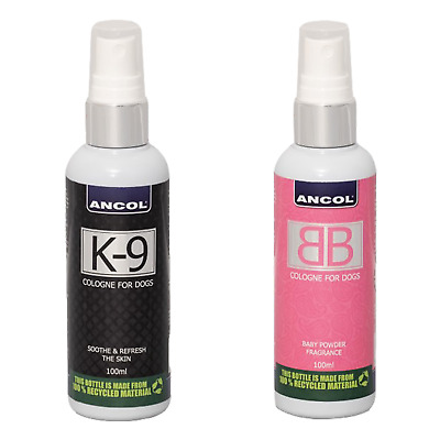 Ancol K9 Bb Dog Cologne Perfume Deodorant Spray