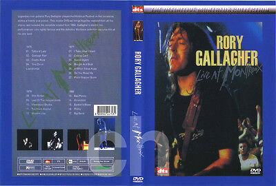 RORY GALLAGHER - Live at Montreux 1975 '77 '79 '85 DVD NEW