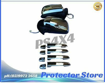 Toyota Hilux 2005-2009 Electric Chrome Mirrors And Chrome Door Handles
