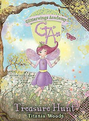 Glitterwings Academy: 10 Treasure Hunt by Titania Woods (English) Hardcover Book