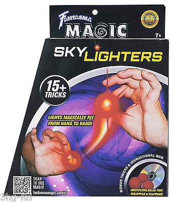 Fantasma Magic Skylighters Light Magically Fly From Hand To Hand Tricks New